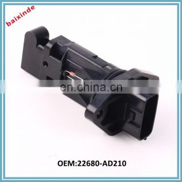 Excellent Performance BAIXINDE Mass air flow sensor OEM 22680AD210 22680-AD210 for NISSANs air flow meter