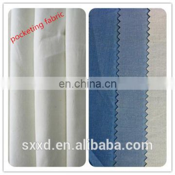 wholesale dyed TC 90/10 96*72 fabric for pocketing