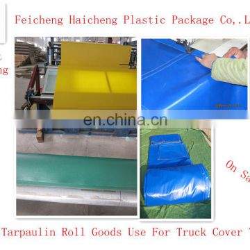 PVC Tarpaulin Roll Goods Use For Truck Cover Tent 550gsm 650gsm