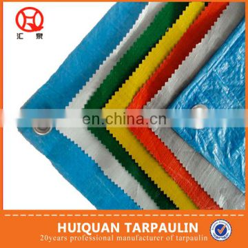 Thin flexible plastic tarpaulin sheets and rolls