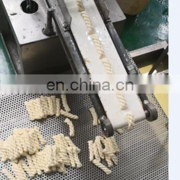 New type stainless steel automatic fried dough twist machine double twist candy wrapping machine