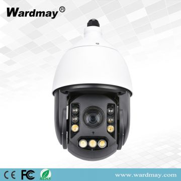 H. 265 18X Zoom 2.0MP Full Color Human Recognition and Tracking Speed Dome IP Camera