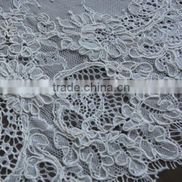 French Lace Wedding Dress Guipure Embroidery African Cord Lace Fabric Lace