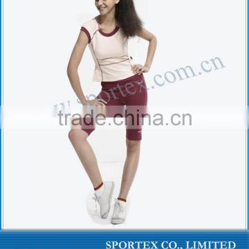 women's sports suit quality OEM sports set with customer's LOGO