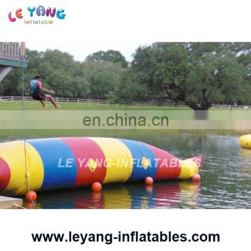 Multi Color Gaint Inflatable Water Jumping Pillow