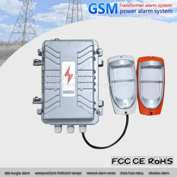 electric power transformer alarm system gsm anti theft anti lost alarm system