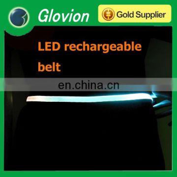 Best sale luminous flashing belt adjustable flashing belt running flashing belt