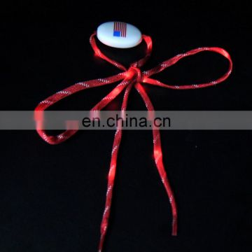 Australia high quality magnet led reflective shoelace with battery