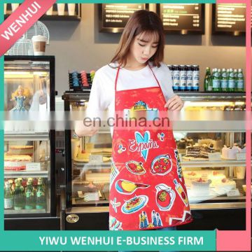 Hot Selling superior quality custom printed aprons with many colors