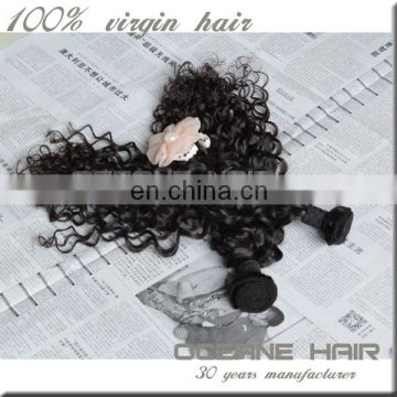 Best selling cheap high quality raw unprocessed brazillian curly hair