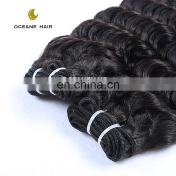 2016 New styles wholesale 100% natural brazilian deep wave human hair extensions