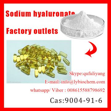 factory stock 99% product Sodium hyaluronate/cockscomb Cas: 9067-32-7