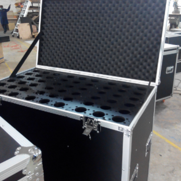 Strong Loading Stage Equipment Cases Rugged Flight Case 4u Flight Case