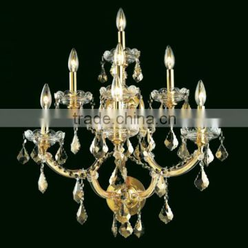 Maria theresa 2 light bedroom beside wall sconce