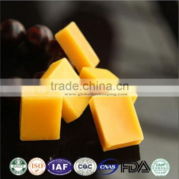 2017 Supply lowest price natural bee wax and Beeswax candle used white bee wax pellets, Bag packing bee wax wholesale
