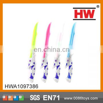 64.5cm Chenghai cool flashing led light saber sword