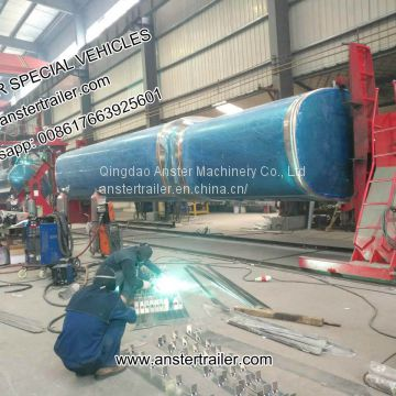 40, 50, 60 M3/ Cbm Petrol, Diesel Tank Trailer with 2/3/4 Compartments with Q235 material