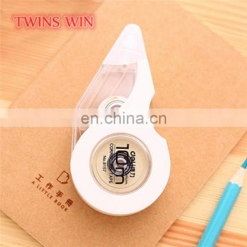 China direct eco friendly school stationery supplier cheap wholesale simple nice plastic correction tape for children