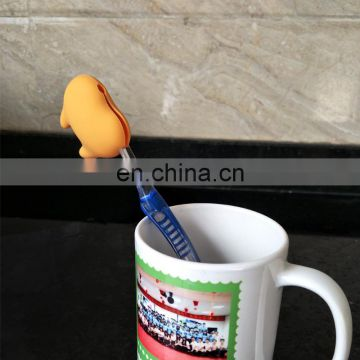 hot selling single toothbrush holder,wholesale custom fashion silicone toothbrush holder/kids toothbrush holder