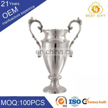 Wholesale metal world cup trophy parts badminton rophy for champion