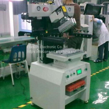 SMT assembly line Semi auto solder paste printer www.flason-smt.com