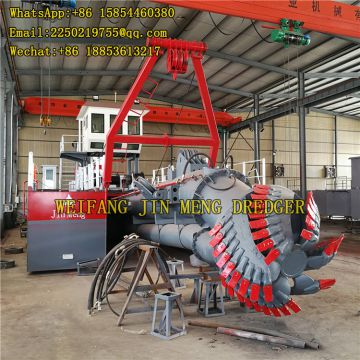 2000m Distance River Sand Pumping Machine Reclamation Construction