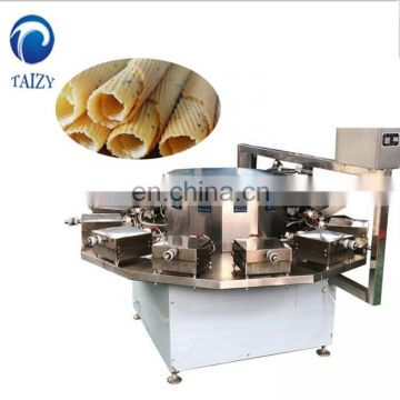 Hot sell high qualityicecreamcone snack wafer stick biscuit rolling machine manualeggrollmakingmachine