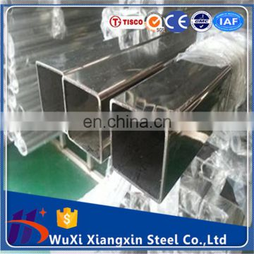10mm wall thickness ASTM 316 stainless steel square tube 304