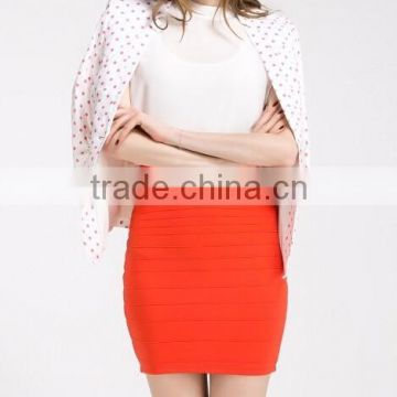 Newest Design Chiffon Tops ,wrap skirt, bat-wing sleeve;bodycon dress, OEM, Guangzhou Clothing Garment Factory