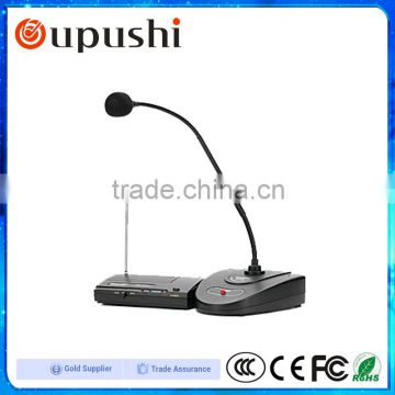 Free Samples Wifi Table Mic System Wireless Microphone Stand