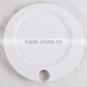 new stock ceramic plates white porcelain plates