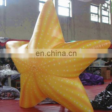 inflatable sea star/ inflatable seastar model for event