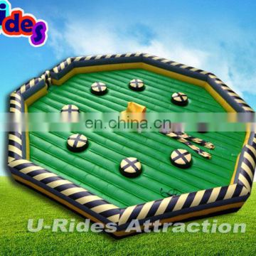 Hot Sale China Wholesale Price Inflatable Wipe Out Game