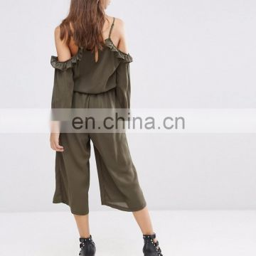 Influence Cold Shoulder Jumpsuit