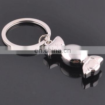 PROMOTIONAL SOUVENIR METAL WEDDING GIFT CANDY KEYCHAIN