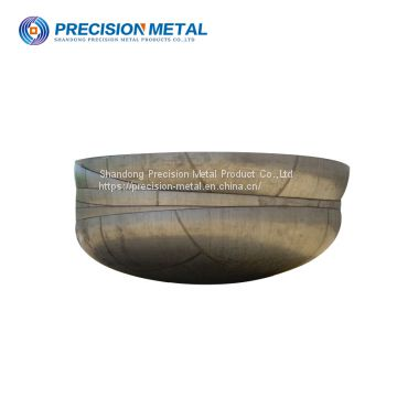 professional 1000mm carbon steel hemisphere for fuel tank