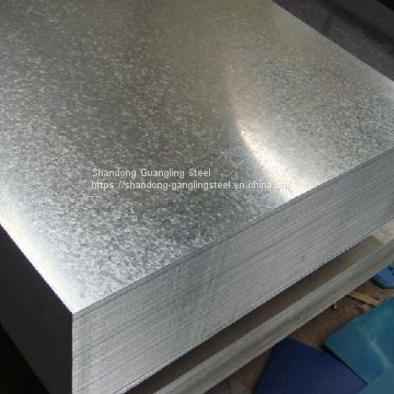 hot dipped galvanized iron steel plain sheet GI plain sheet plate