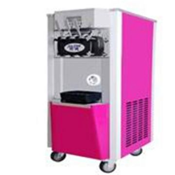 Stainless Steel Panel Beatiful  Commercial Desktop Mini Ice Cream Machine: