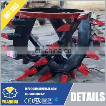 crown type 0.8m - 1.8m diameter cutter head for dredger use price low