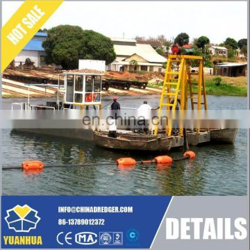 operation small submersible pump dredger equipment
