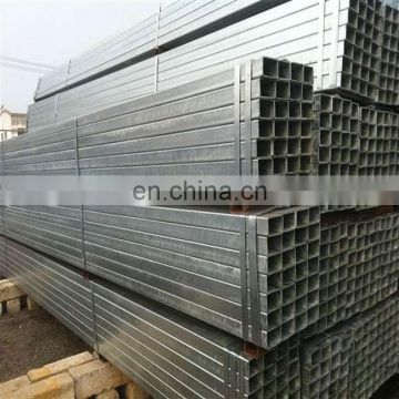 "pre zinc coated square galvanized steel pipe 4"" tube"