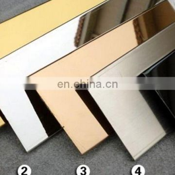 304  hairline color stainless steel for kitchen decoration