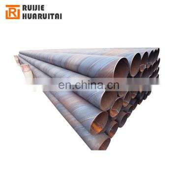 Q235 spiral weld steel pipe ms spiral tube pipes for hydraulic cylinders