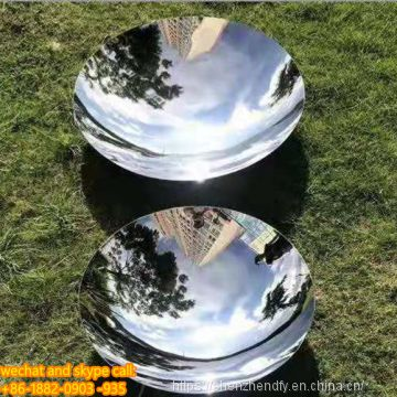 Customized Stainless Steel Concave Mirror for Garden Sculpture High Quality