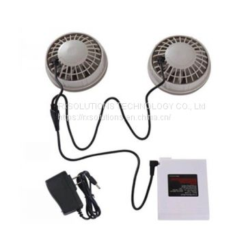 12V 6500RPM cooling fan for air-condition clothes/jacket/caps