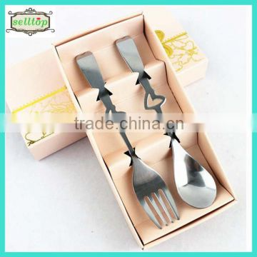 High Quality 145cm Stainless Steel Fork And Spoon Wedding Souvenirs