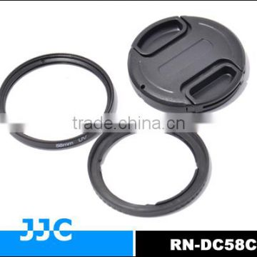 JJC Lens adapter RN-DC58C provides 58mm filter mount for Canon PowerShot G1X