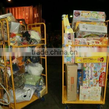 Second hand/Used baby seat for car with mixed products toys, baby items...by 40 FT HQ container exported from Japan TC-009-78