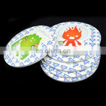 eva tea cup coaster set