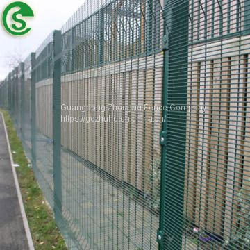 Collision proof 358 security fenceing panels perimeter retail fencing